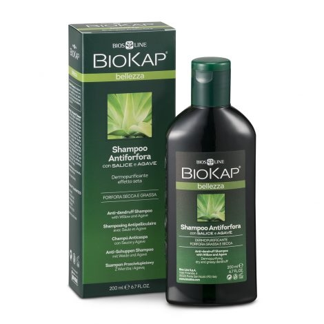 Biokap shampoo antiforfora effetto seta 200 ml BIOS LINE
