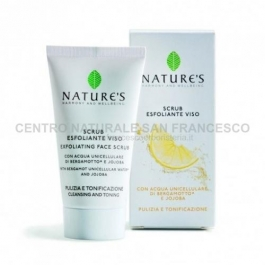 Acque unicellulari scrub esfoliante viso NATURE'S