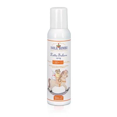 Sole bimbi latte spray 50+ HELAN
