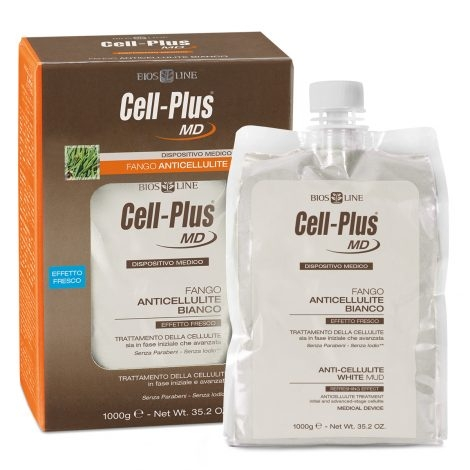 Cell Plus MD fango anticellulite bianco BIOS LINE