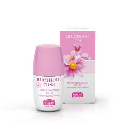 Anemone Rosa deodorante roll-on HELAN