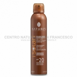 I Solari spray trasparente SPF 20 NATURE'S
