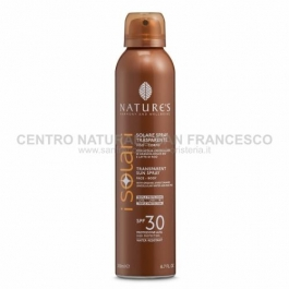 I Solari spray trasparente SPF 30 NATURE'S