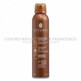I Solari spray trasparente SPF 50 NATURE'S