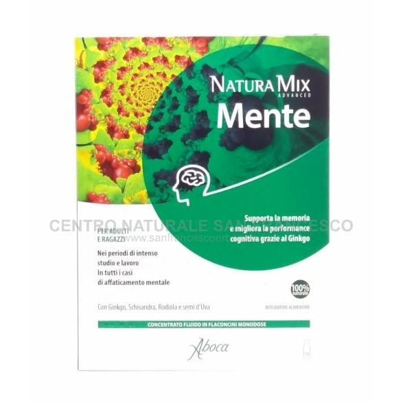 Natura Mix Mente Advanced flaconcini ABOCA