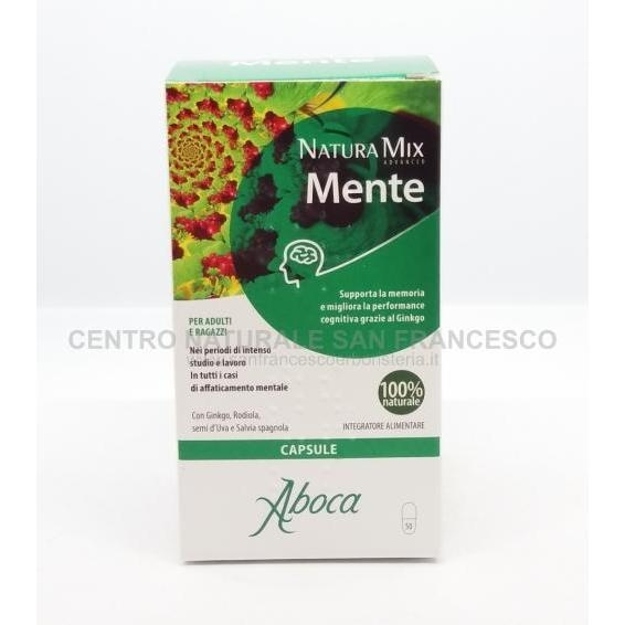 Natura Mix Mente Advanced capsule ABOCA