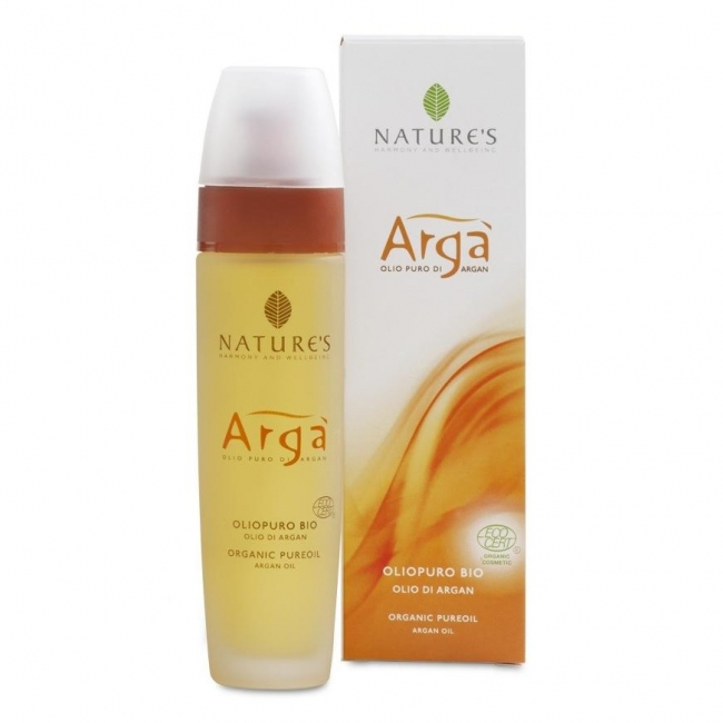 Argà olio puro biologico 100 ml NATURE'S
